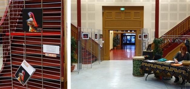 Exposition au Gymnase de Lille / Portraits de Territoires